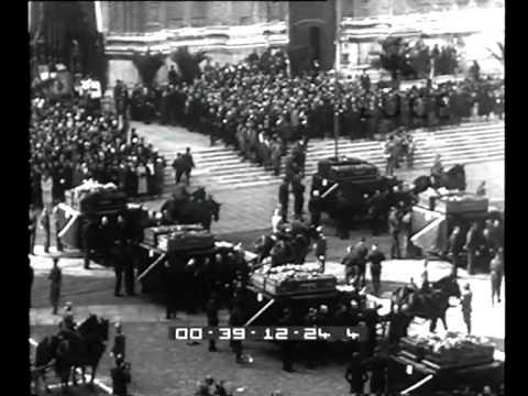 Bologna. Traslazione delle salme dei gloriosi martiri del fascismo bolognese