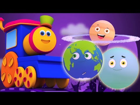 Bob der Zug   Planeten Lied   Lernvideos   Bob Train   Learn Planets   Planets Song   Kids Video
