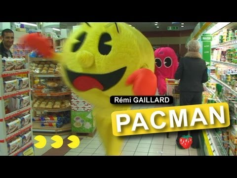 pacman - Dangerously funny videos created and produced by Rémi GAILLARD. http://www.facebook.com/gaillardremi http://twitter.com/nqtv.