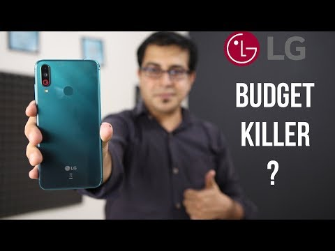 Powerful Triple Camera @ 9999/- Only I LG W30 Unboxing And Review Hindi