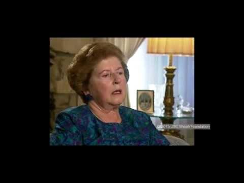 אלזה פליישמן מספרת על אירועי ליל הבדולח ברגנסבורג