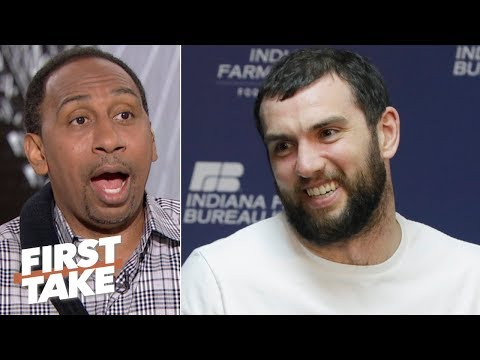 Video: A healthy Andrew Luck will lead the Colts to a Super Bowl run - Stephen A. | First Take