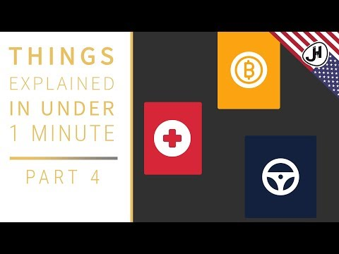 "Blockchain Applications Simply Explained | Miniseries ""Things Explained In Under 1 Minute"""