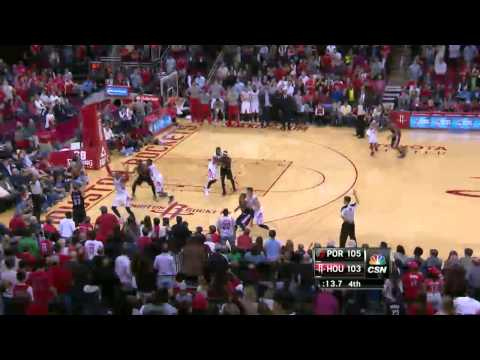 NBA Highlights: Blazers @ Rockets 3/9/2014