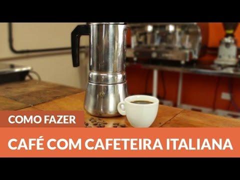 Como preparar Café com a Cafeteira Italiana