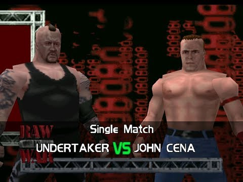 Smackdown vs Raw Matches - The Undertaker vs John Cena