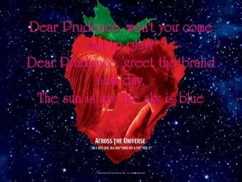 Dear Prudence (Song) by Evan Rachel Wood, Joe Anderson, Jim Sturgess,  and Dana Fuchs