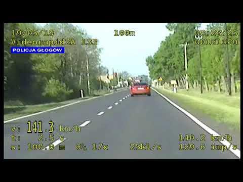 Wideo: Nietrzeźwy kierowca jechał z prędkością  141 km/h