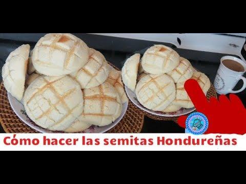 Cómo hacer las semitas hondureñas  las recetas de anita