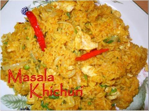 Bengali Masala Khichuri recipe (episode 44) by ruptushDiner Bengali ...