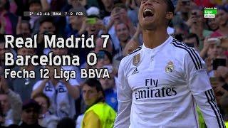 Video Real Madrid 7 Barcelona 0 - Liga BBVA Fecha 12 (Parodia) MP3, 3GP, MP4, WEBM, AVI, FLV Juli 2017
