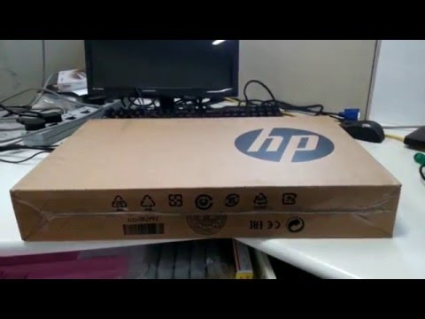 HP Probook 240 G4  Unboxing