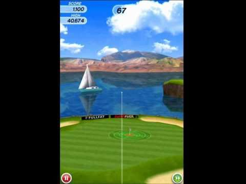 Video of Flick Golf!