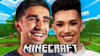 Vikkstar & James Charles play Minecraft Monday (Highlights)