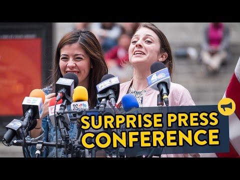 Could You Handle a Surprise Press Conference?