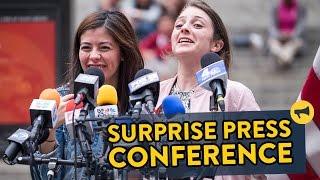 farse conferinta surpriza