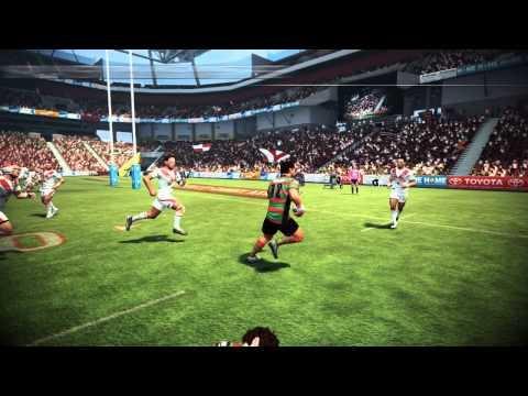 Rugby League Live 2 : première bande-annonce