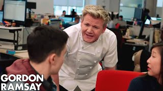 Behind the Scenes on Gordon Ramsay's DASH Game by Gordon Ramsay