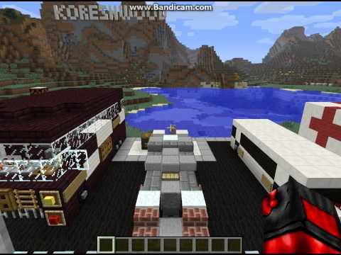 Обзор карты Minecraft от MrAdvokatDyavola серия 1 (Транспорт)