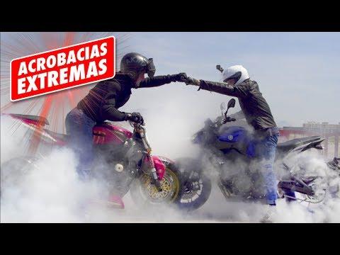 ACROBACIAS EXTREMAS solo para LOCOS!!  Dani Clos