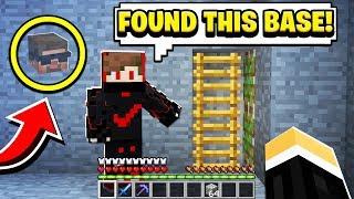 this suspicious Minecraft player showed me a secret base to raid..