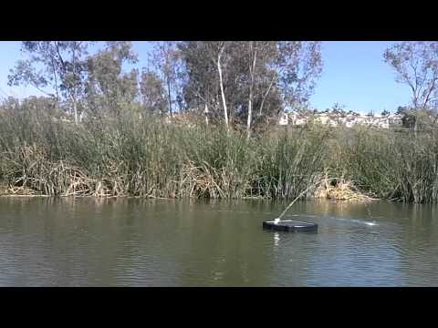 Savior Solar Aerator for Lakes, Ponds and Aquaculture Fish Hatcheries