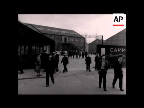 SHOTS OUTSIDE CAMMELL LAIRD - NO SOUND