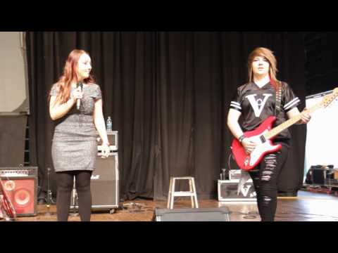 Nikki Giron & Ash Barstad - National Anthem - Rocky Mtn Ink Jam