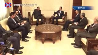 Асад готов обсуждать проведение референдума в Сирии