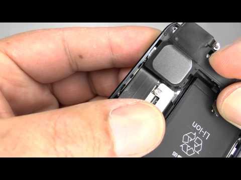 Lautsprecher Reparatur Apple iPhone 5  für 12,90€ Reparaturanleitung