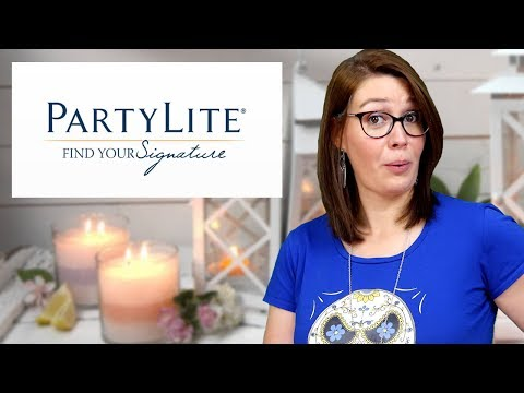 PartyLite - Top Haul Bougies parfumées, accessoires de décoration ! Family Geek