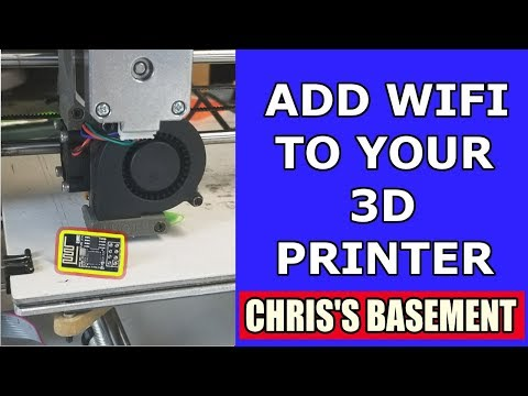 Add WiFi To Your 3D Printer For $5!!!