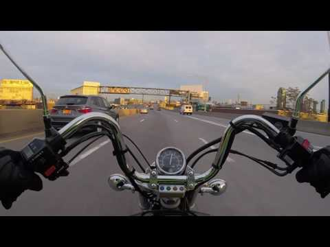 BQE Midtown Tunnel - Yamaha V Star 250