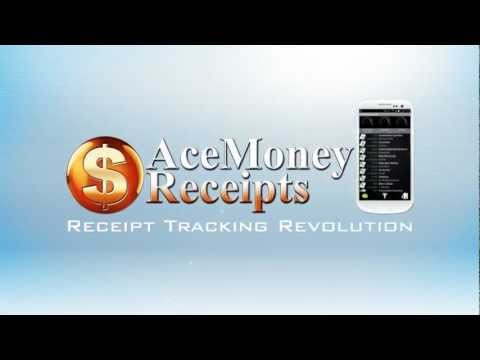 Video of AceMoney Receipts