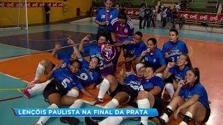 Lençóis Paulista conquista título da Copa Record série Prata pela região de Bauru