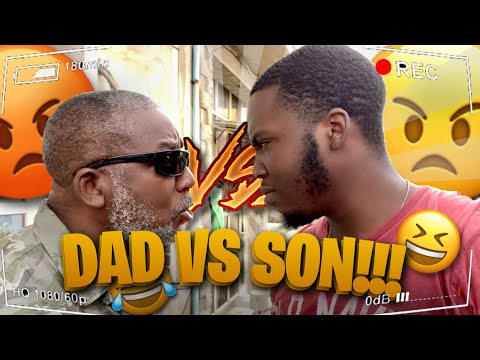 DAD VS SON!!!! **pops vs o b a**