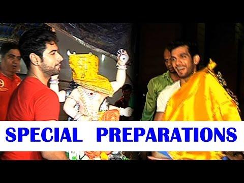 Ankit Gera & Arjun Bijlani's special preparations
