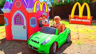 Video McDonalds 🍔 CON MI COCHE 🚗 DRIVE THRU  👶 MP3, 3GP, MP4, WEBM, AVI, FLV September 2018