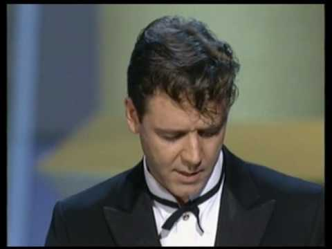 Russell Crowe Oscar Speech