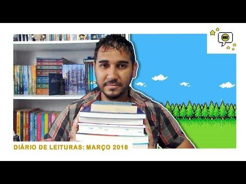 Diário de Leituras: Março 2018 | Na Minha Estante