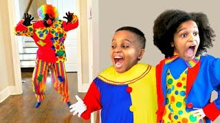 Bad Baby Scary Clown ATTACKS Mannequin - Shasha and Shiloh - Onyx Kids Me and Shiloh are gonna catch HIM no matter what! With the weapons we use, ...