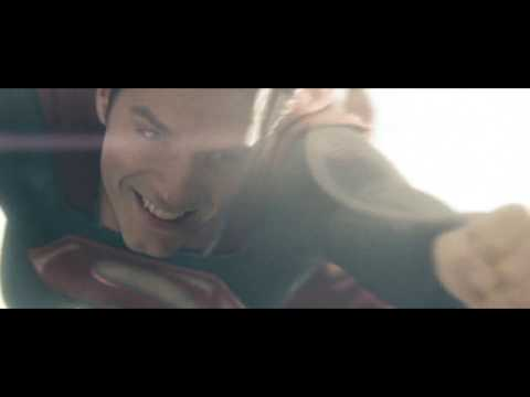 Man of Steel 2013 superman first flight scene 1080p HD BluRay
