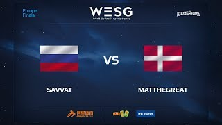 Savvat vs MatTheGreat, game 1