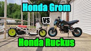4. Honda Grom VS Honda Ruckus Part 2