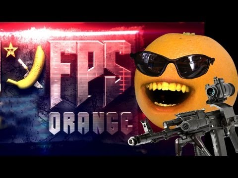 realannoyingorange - Orange shows us the Kitchen Cannon. It goes BOOM BOOM, and we like that. FREE version of my video game Kitchen Carnage: iTunes: http://bit.ly/AOKitchenCarnag...