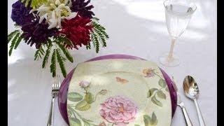 فن تزيين المائدة - 29 مطبخ منال العالم