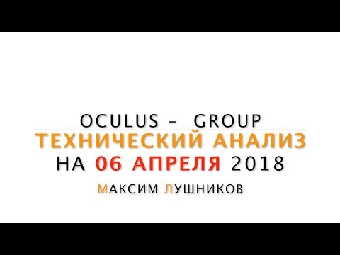 Технический анализ рынка Форекс на 06.04.18 от Максима Лушникова   ОСULUS - Grоuр - DomaVideo.Ru