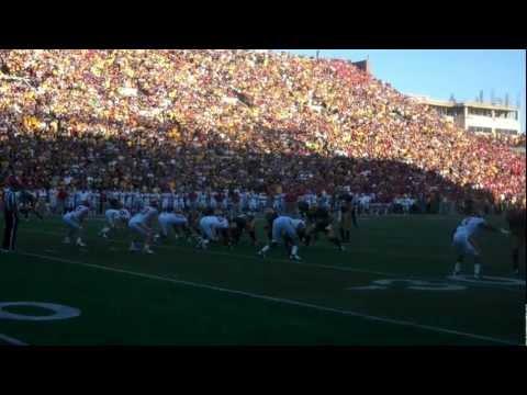 Jake Knott interception 9/8/2012 video.