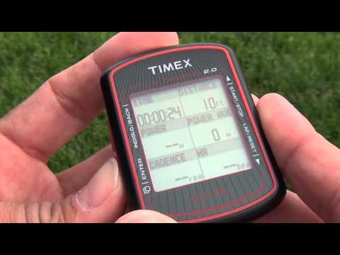 Timex Cycle Trainer 2.0 GPS Bike Computer Set Up- Part Two
