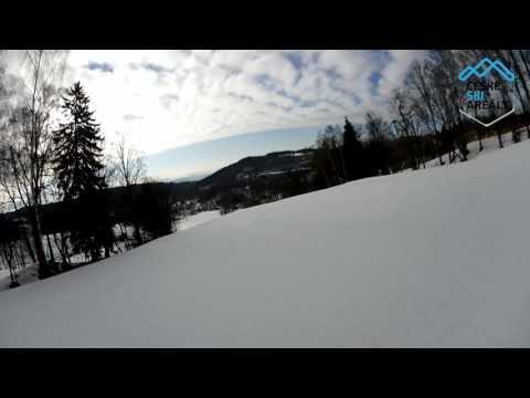 Ski Černý Důl červená 2C 2016
